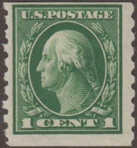 US Stamp #412 Mint Hinged 412120997