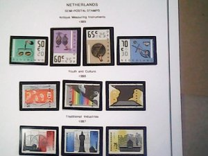 1986-87  Netherlands Semi-Postal MNH  full page auction