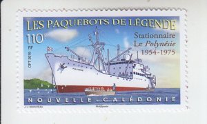 2019  New Caledonia Station Ship Polynesia (Scott NA) MNH