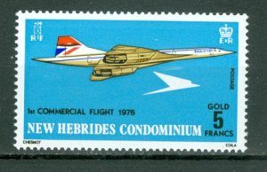 NEW HEBRIDES BRITISH...CONCORDE #204...MNH...$7.50