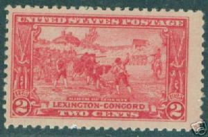 US Scott 618 2 cent red, 1927 MN* CV $5.50