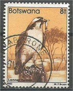 BOTSWANA, 1982, used 8t, Birds, Scott 310
