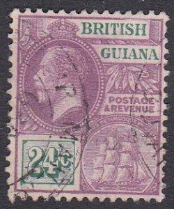 British Guiana Sc #197 Used; Mi #146