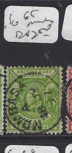 BRITISH EAST AFRICA   (PP2510B)  QV  1/2A  SG 65  MOMBASA   SON CDS   VFU