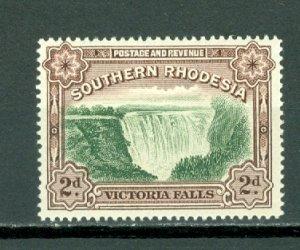 SOUTHERN RHODESIA  FALLS #37...PERF.14 ..MNH...$6.00