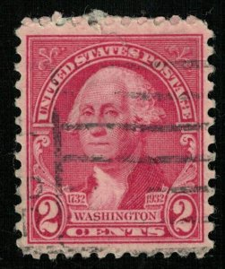USA, 2 cents, SC #707 (T-6874)
