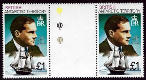 British Antarctica SC#59 Gutter Pair Mint VF...Grab a Bargain!