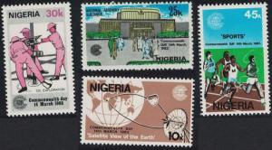 Nigeria Commonwealth Day 4v SG#448-451