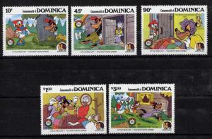 Dominica 925-9 MNH Disney, Brothers Grimm, Little Red Cap