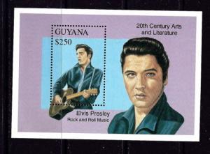 Guyana 2685 NH 1993 Elvis Presley Souvenir Sheet