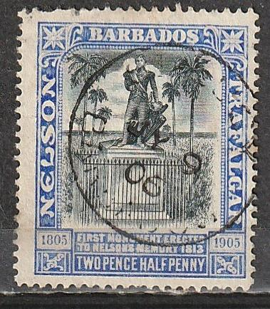 #106 Barbados Used