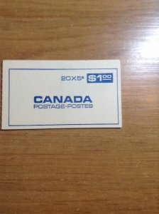 Canada BK58b complete booklet