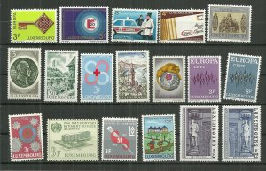 Vintage MNH Luxembourg collection