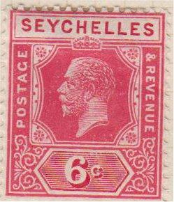 SEYCHELLES - Sc 97 / MINT HR - George V