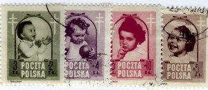 Poland SC B59-B62 Used F-VF...Popular Country!