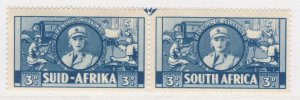 British Colony South Africa 1941 3d MH* Stamp A22P19F8976