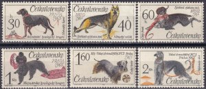 Czechoslovakia #1312-7  MNH CV $5.85  (Z4681)