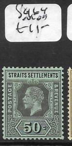 MALAYA STRAITS SETTLEMENTS (PP3110B) KGV  50C  SG164  MOG