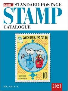 Scott Stamp Catalog 2021 Volume 4A & 4B - COUNTRIES J-M  Book  FREE SHIPPING!