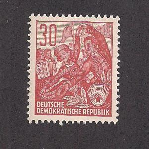 GERMANY - DDR SC# 198 F-VF MNH 1953