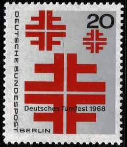 GERMANY BERLIN 1968 ATHLETICS FESTIVAL MINT (NH) SG B315 P.14 SUPERB