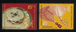 Fr. Polynesia Traditional Crafts 2v SG#891-892