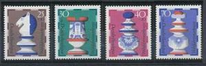 Germany B491-B494 MNH (1972)
