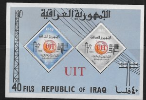 IRAQ, 378A, MNH, S.S OF 2,  UIT