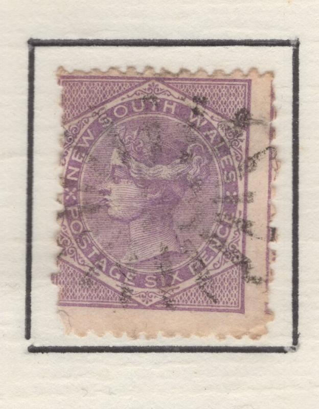 New South Wales 1871-84  Queen Victoria Stamp Scott 54 F
