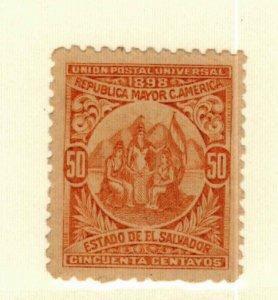 Salvador #187 MNG CV$10.00
