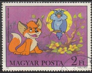 Hungary, Sc 2762, CTO-NH, 1982, OWL