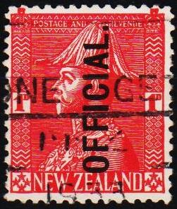 New Zealand. 1927 1d S.G.0111 Fine Used