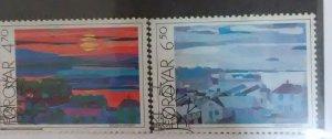 Faroe Island Scott #166-7