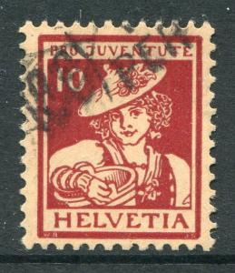 SWITZERLAND ~ #B6 Fine-Very Fine Used. Cat. 77.50