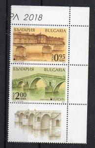 BULGARIA - EUROPA - 2018 - BRIDGES -