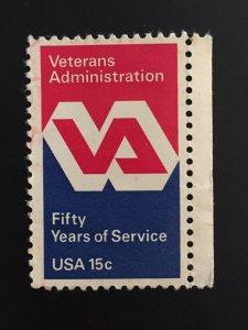 VETERANS ADMINISTRATION USA world stamps #ref. bin