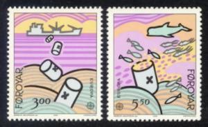 Faroe Islands Sc# 143-4 MNH Europa 1986