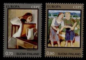 Finland 572-3 MNH Art, EUROPA