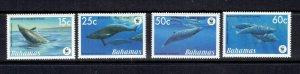 BAHAMAS - 2006 WWF WHALES - SCOTT 1206 TO 1209 - MNH