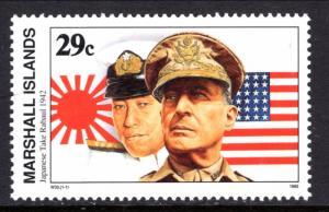 Marshall Islands 299 WWII Japanese Take Rabaul MNH VF