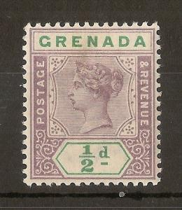 Grenada 1895 0.5d SG48 Mint