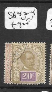 SARAWAK  (PP2803B)  SG 43-4   VFU
