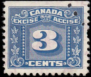 Canada Excise Tax FX64 Used