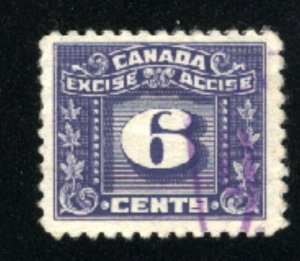 Canada 6 cent excise    u VF  PD