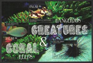 Palau Fish Urchin Coral Reef and Dangerous Creatures MS