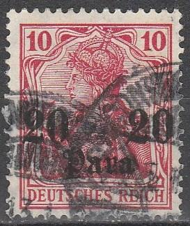 Germany Off In Turkey #44 F-VF Used (S4260)