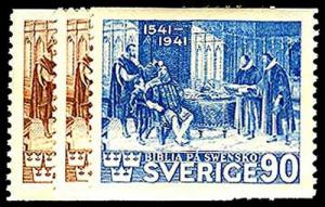 SWEDEN-b-1910-1949 ISSUES (67 - 417) 316-18  Mint (ID # 43023)