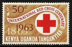 Kenya, Uganda & Tanzania 1963 Scott# 143 MH