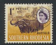 Southern Rhodesia  SG 93  SC# 96  Used / FU  Buffalo