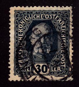 Austria 153 Franz Josef. 1916